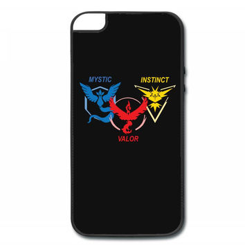 POKEMON GO TRIO TEAM iPhone 5/5s Hard Case