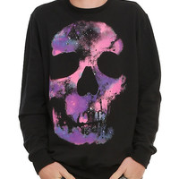 RUDE Cosmic Skull Pullover Top