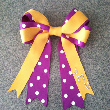 James Madison University Inspired Hair Bow - JMU