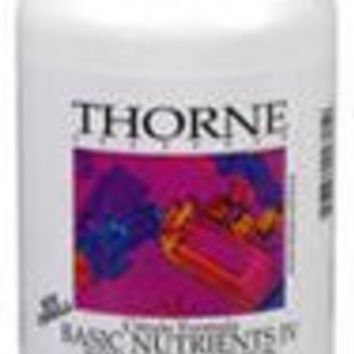 Thorne Research Basic Nutrients IV with Copper and Iron, 180ct