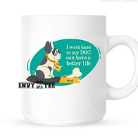 Funny Coffee Mugs | Dog Lover Gifts | Unique Coffee Gifts | Gifts for her | Gifts For Him