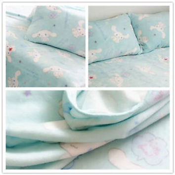 New Sanrio Cinnamoroll Cute Dog Soft Flannel Blanket Bed Sheet Room Decor Gift