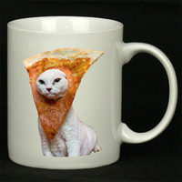 Trippy Pizza Cat For Ceramic Mugs Coffee *