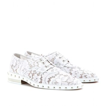 Givenchy STUDDED LACE OXFORDS