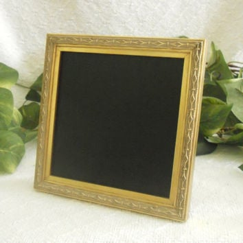 Small Gold framed chalk board, Ornate small gold framed chalkboard, framed chalkboard, menu board, Framed chalk board, wedding decor