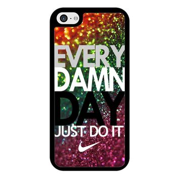 Every Damn Day Nike Just Do It iPhone 5/5S/SE Case