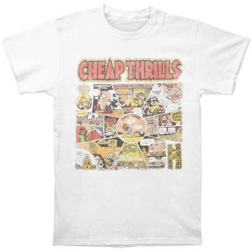 Big Brother And The Holding Company Men's  Cheap Thrills T-shirt White