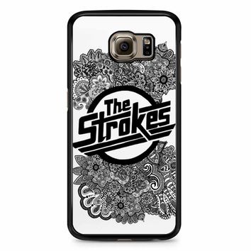The Strokes Zentangle Logo Samsung Galaxy S6 Edge Plus Case