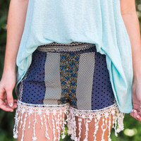 Tassel in Time Shorts