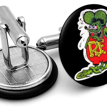 Rat Fink Cufflinks
