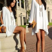 Fashion Sexy Women Summer Sleeveless Party Evening Cocktail Short Mini Dress [7942083911]