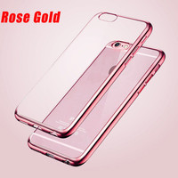 rose gold Phone Case For iPhone 7 7Plus 6 6s Plus 5 5s SE