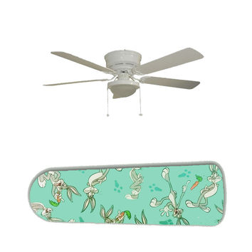 """Bugs Bunny 52"""" Ceiling Fan and Lamp"""