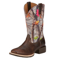 Ariat Womens Hybrid Rancher Wide Square Toe Cowgirl Boot