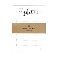 Get Shit Done - To Do List Notepad