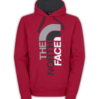 The North Face Trivert Pullover Hoodie for Men in Red and Grey CZY4-65J