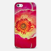 red flower iPhone 5s case by Marianna Tankelevich | Casetify