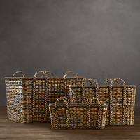 Seagrass Baskets - Brown