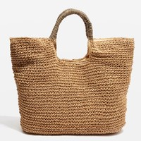 Brighty Straw Tote Bag