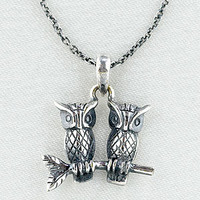 Sitting Owls Necklace | Jewelry| Accessories | World Market