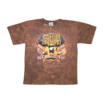 Lynyrd Skynyrd Men's  Southern Rock Royalty Tie Dye T-shirt Multi Rockabilia