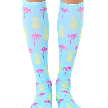 Key West Knee High Socks