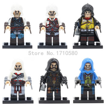 Assassin's Creed II: Discovery Figure XINH 035 Cyclops Marvel Super Heroes Deadpool Bataman Avengers Mini Building Block Toys