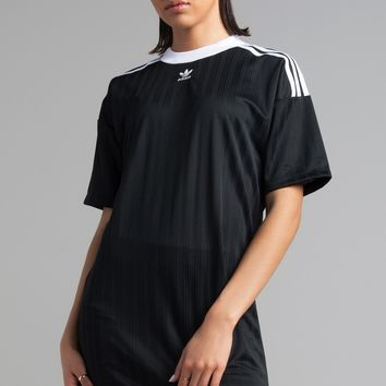 adidas Trefoil Dress in Black
