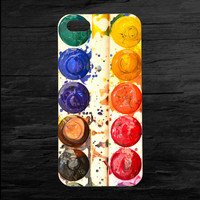 Artists Water Colors Paint iPhone 4 and 5 Case