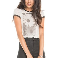 Brandy ♥ Melville |  Carolina Daisies Top