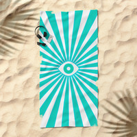 Big Brother Beach Towel by bitart