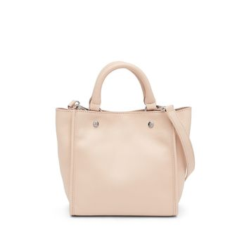 Sam Edelman Women's Abbigail Pink Micro Leather Tote Bag