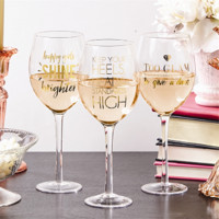 Glam Wine Glasses (Assorted)