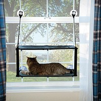 Double Stack EZ Window Mount Kitty Sill