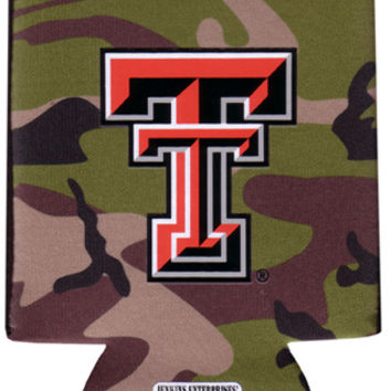 texas tech - koozie pocket camo 12 dp Case of 144
