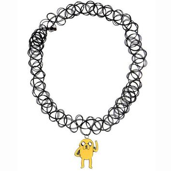 Jake The Dog Tattoo Choker