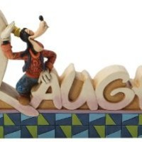 Enesco Disney Traditions by Jim Shore Goofy Laugh Figurine, 3.875-Inch
