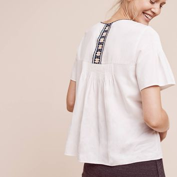 3ef9f5c9f7a5c Naia Peasant Top from Anthropologie | Epic Wishlist