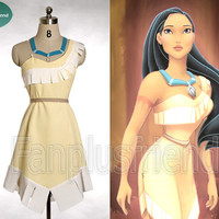 Disney Pocahontas Cosplay, Pocahontas Costume Set