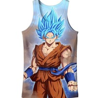 Dragon Ball Z Graphic Summer Anime Tank Top V18