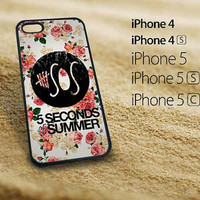 5SOS Floral fitted iphone 5 case iphone 5s case iphone 5c case iphone 4s case iphone 4 case Samsung Galaxy S3 case Samsung Galaxy S4 case