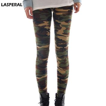 LASPERAL High Elastic Camouflage Leggings