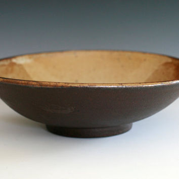 Handmade Ceramic Bowl 95 wide 275 tall by ocpottery on Etsy