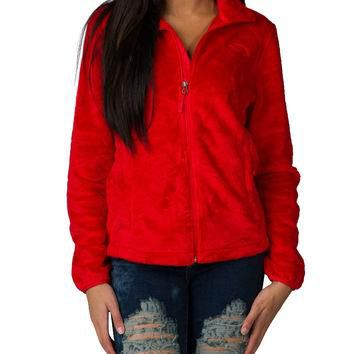 THE NORTH FACE WOMENS OSITO 2 JACKET - Red | Jimmy Jazz - NF00C782-HCL