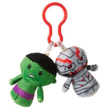 Hallmark Hulk and Ultron itty bittys Clippys Stuffed Animals