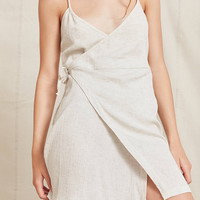 Urban Renewal Remade Gauzy Wrap Mini Dress | Urban Outfitters