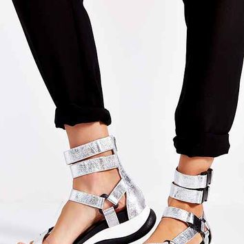 Jeffrey Campbell Bayfield Tech Sandal- Gold