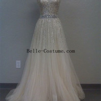 Strapless Prom Dresses, Strapless Sequins Prom Dresses, Strapless Prom Dress Sale