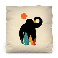Papa Outdoor Throw Pillow