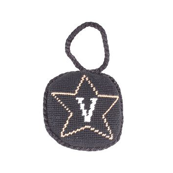 Vanderbilt Needlepoint Christmas Ornament by Smathers & Branson